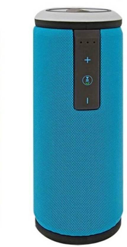 Oxza X6 HIGH BASS Waterproof 5 W Bluetooth Speaker Blue, Stereo Channel