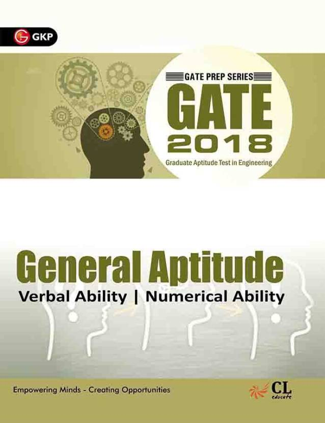 GATE General Aptitude 2018 : Verbal Ability, Numerical Ability First  Edition with 0 Disc