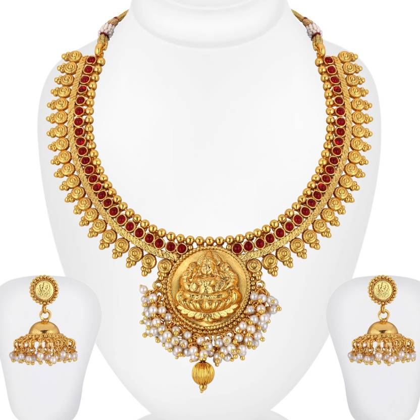 Spargz Brass Jewel Set Price In India