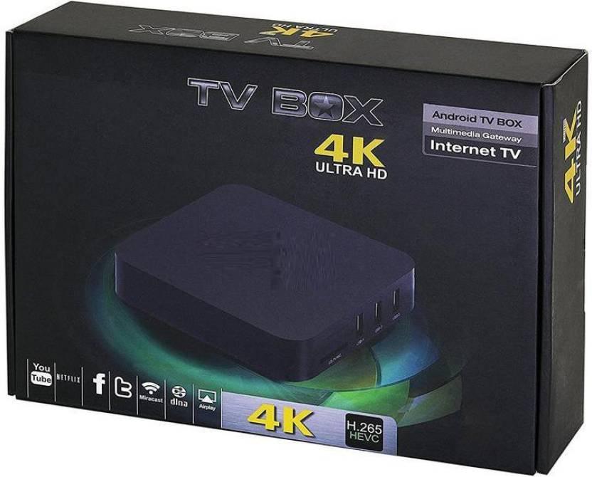 VibeX ® MXQ Pro 4K Ultra HD TV Box - KODI, Android 5 1