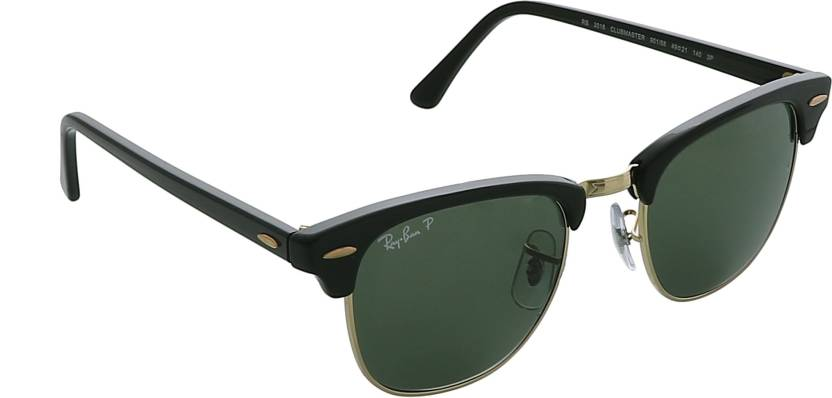 8f06c18bb84ad Buy Ray-Ban Clubmaster Sunglasses Green For Men Online   Best Prices ...