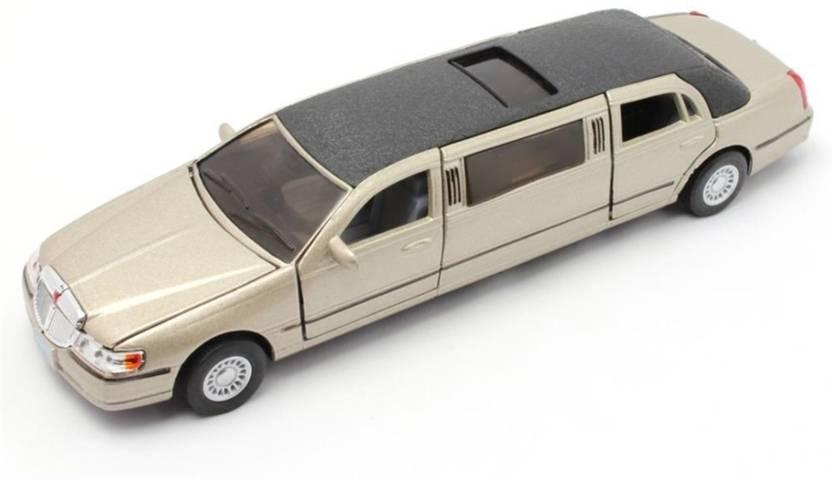 Kinsmart 7 1 38 Scale 1999 Lincoln Town Car Stretch Limousine Car