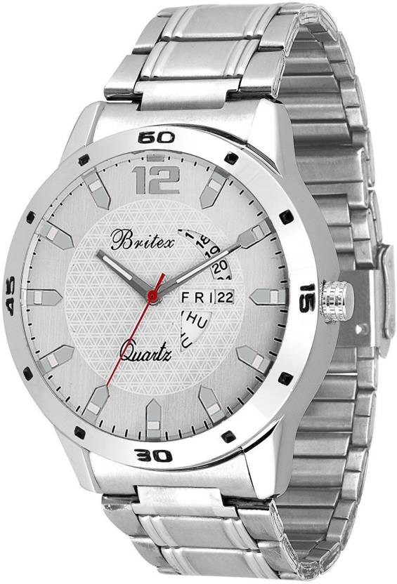 Britex BT6044 Bel Homme~ Day and Date Watch - For Men