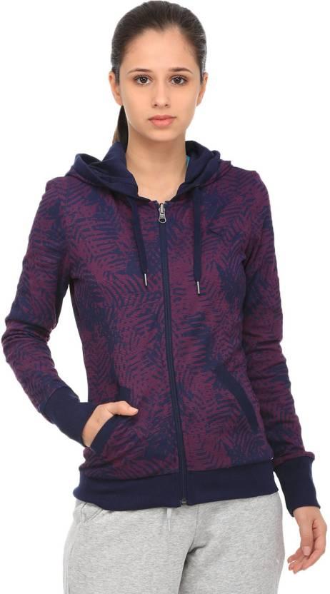 entregar longitud realce  Puma Full Sleeve Solid Women Jacket - Buy Puma Full Sleeve Solid ...