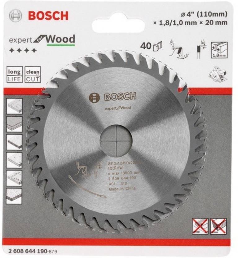 Bosch 4'' x 40 TCT Circular Saw Blades Hand Tool Kit