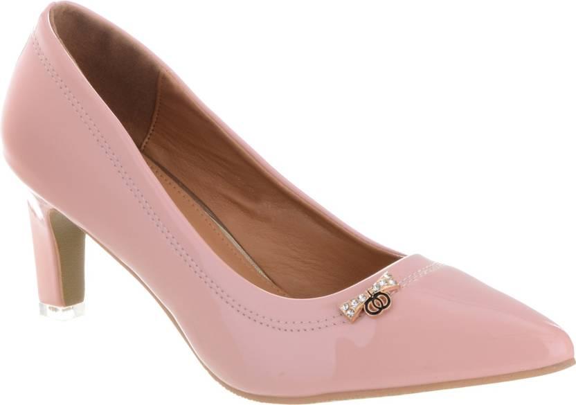 15b845d48bf6 Shuz Touch Women PINK Heels - Buy Shuz Touch Women PINK Heels Online at  Best Price - Shop Online for Footwears in India