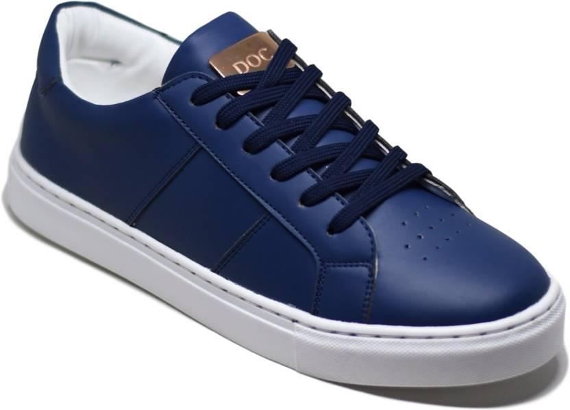 competitive price 01d0e a7d6d DOC Martin Bravo Blue Sneakers For Men (Blue)