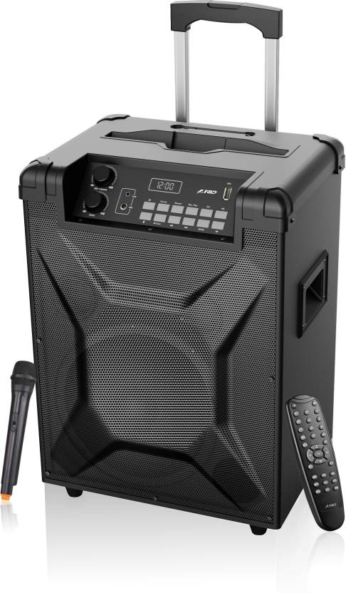 F D 'T2' Trolly Speaker 30 W Bluetooth Home Theatre Black, 2.1 Channel