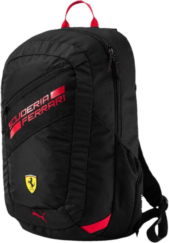ba512041d7c5 Puma Ferrari Fanwear 28 L Backpack Black - Price in India