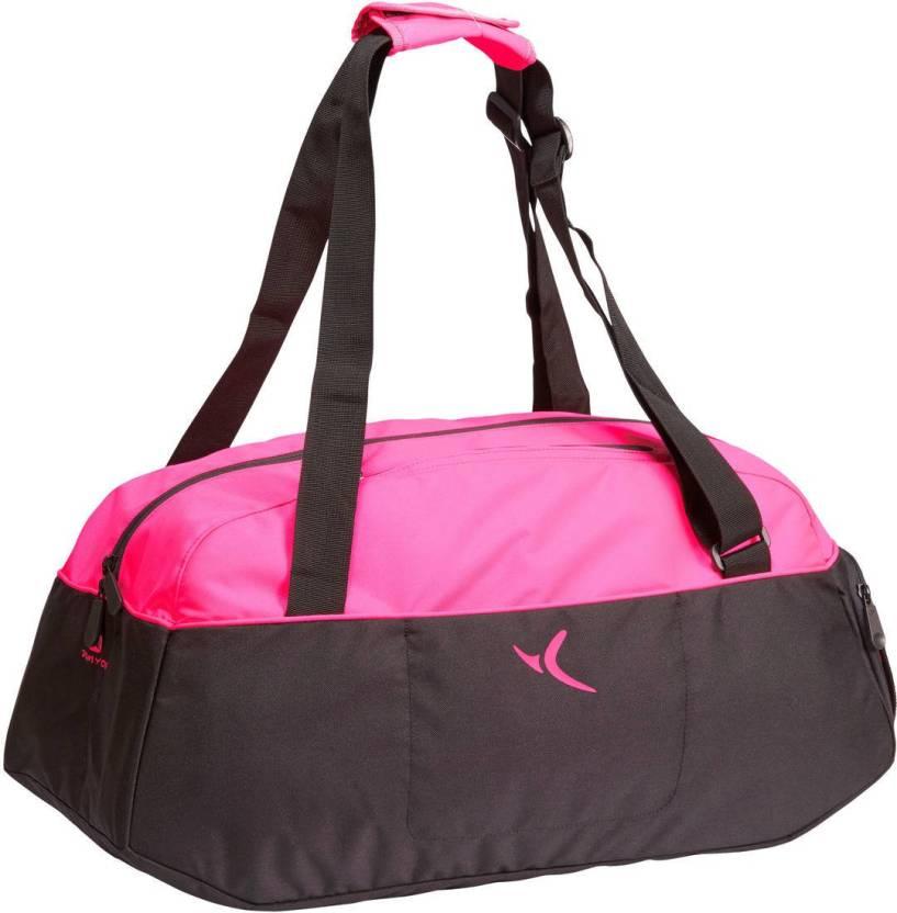 711814b167f124 DOMYOS by Decathlon Medium Training Gym Bag Pink - Price in India ...