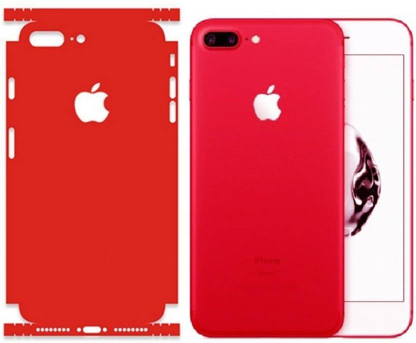 Marshland Red Sticker Iphone 7 Plus Mobile Skin Price in