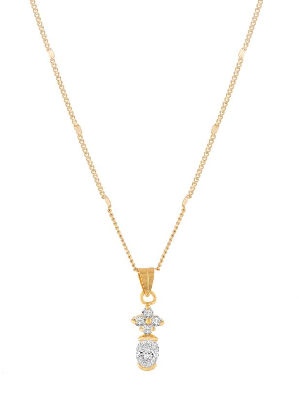 Jazz Jewellery Lady Touch Beautiful Gold Plated Designer CZ ...