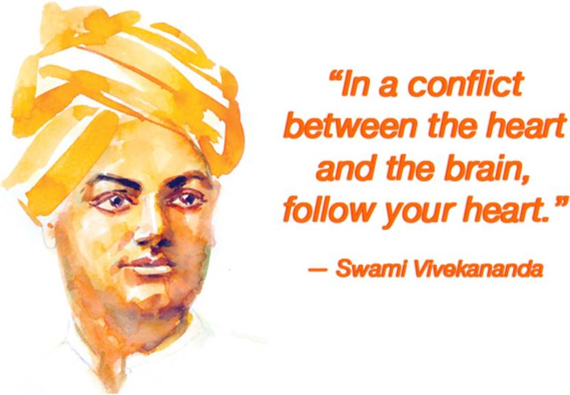 Swami Vivekananda Quotes Wallpaper On Hi Quality Large Print 36x24