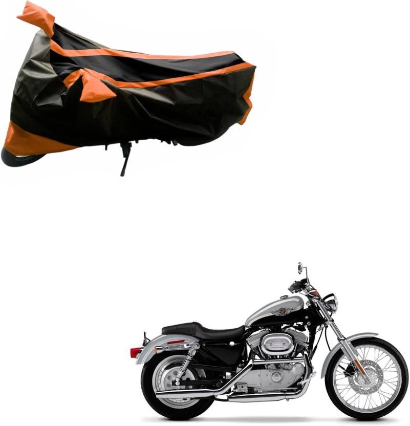 Harley Davidson Bike Covers >> Purpleheart Two Wheeler Cover For Harley Davidson Price In India