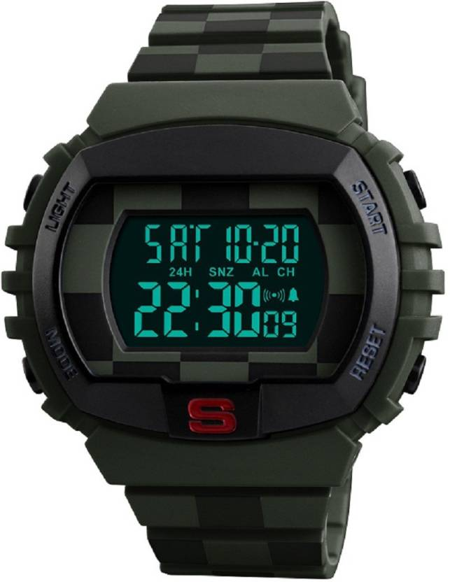 a32fad2cf Skmei Special Military Design Green Waterproof Sports Watches for Men and  Boys, Green Watch - For Men - Buy Skmei Special Military Design Green  Waterproof ...