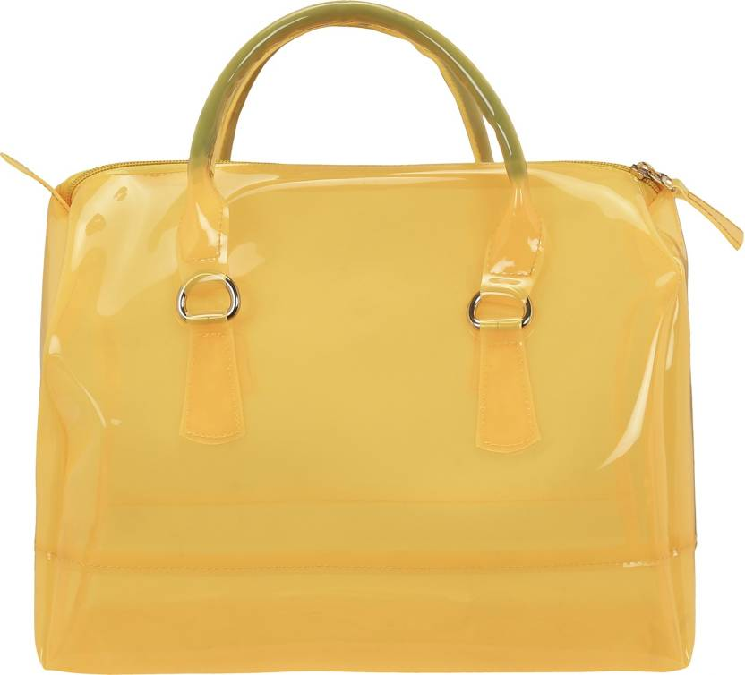 299d455667 Bagclan Yellow Casual Candy Handbag for Women Shoulder Bag (Yellow, 10 L)