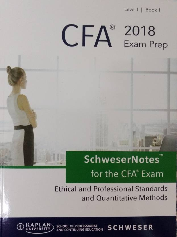 2018 Cfa Level 1 Set 5 Books Practice Book English Paperback Kaplan S