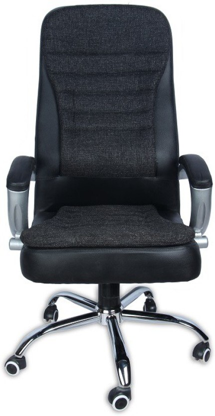 Green Soul Melbourne High Back Office Chair (Black) Leatherette Office  Executive Chair