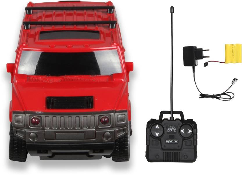 Toys Bhoomi 1:24 Rechargeable 4CH RC Hummer Car with Headlight - 1