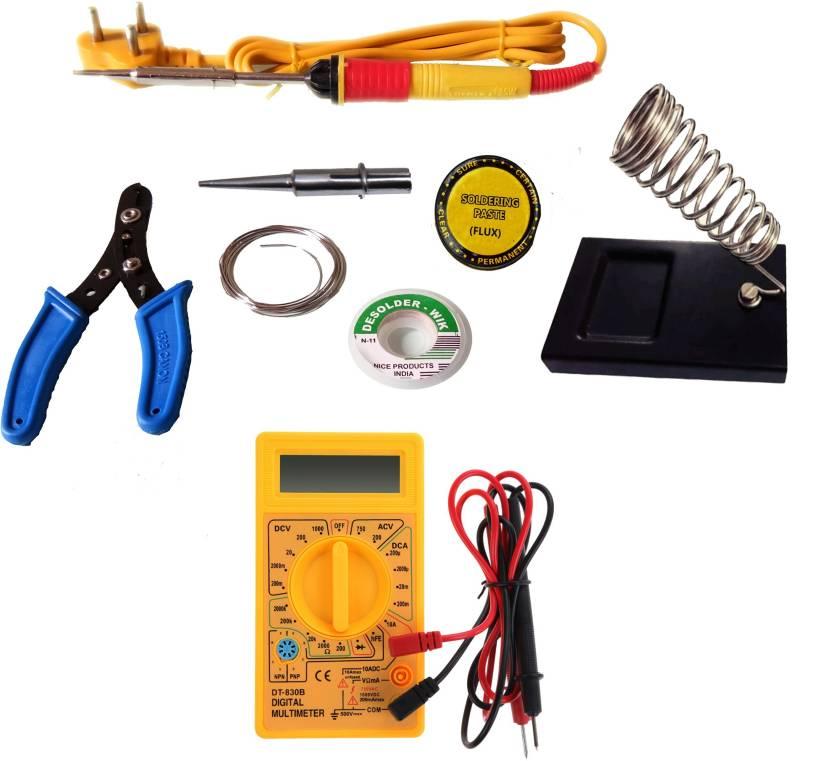 themisto 6 in1 soldering kit with multimeter 25 w simple price in