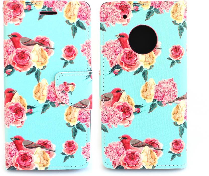 Fashion Flip Cover for Motorola Moto G5 Plus Multicolor