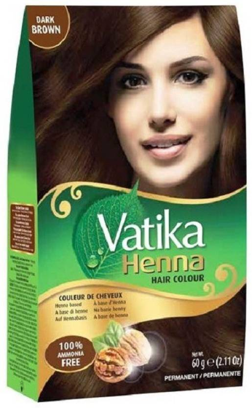 Vatika Henna Hair Colour Dark Brown 60g Hair Color Price In India