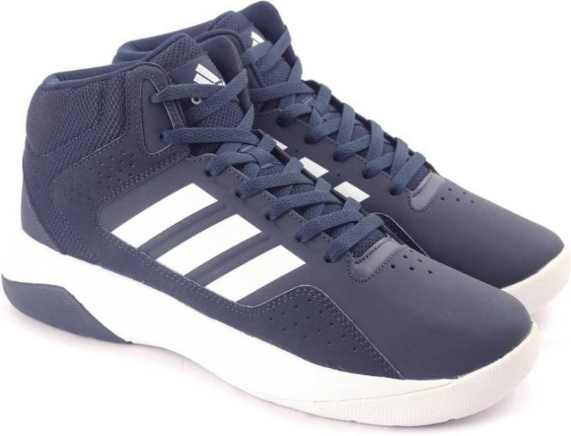 differently 96a39 bffbd ADIDAS NEO CLOUDFOAM ILATION MID Basketball Shoes For Men