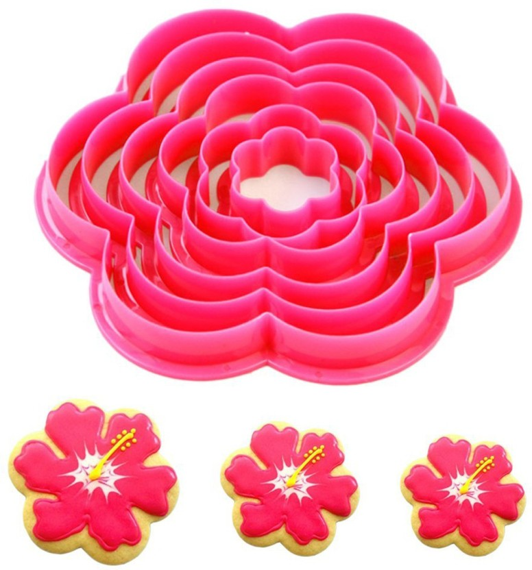 Poinsettia cookie and fondant cutter US SELLER!!
