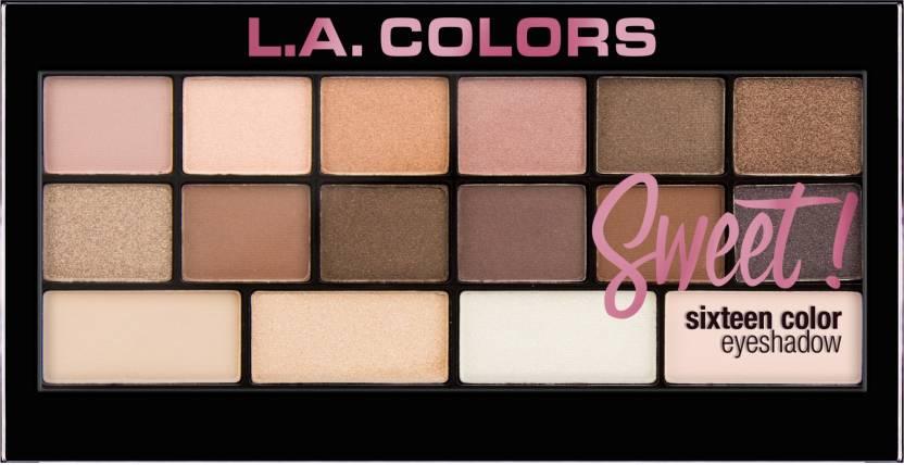 La Colors Sweet 16 Color Eyeshadow Palette 20 G Price In