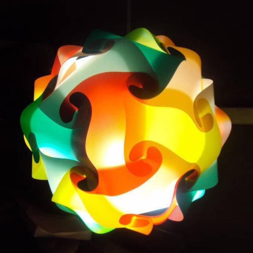 A to z traders self assemble modern designer multi lampshade lantern a to z traders self assemble modern designer multi lampshade lantern ceiling lamp shade for diwali aloadofball Images