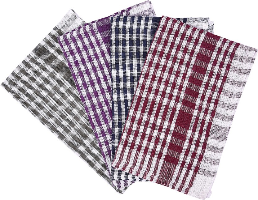 Nostaljia Nostaljia Kitchen Towels Set Of 4 Multicolor Napkins