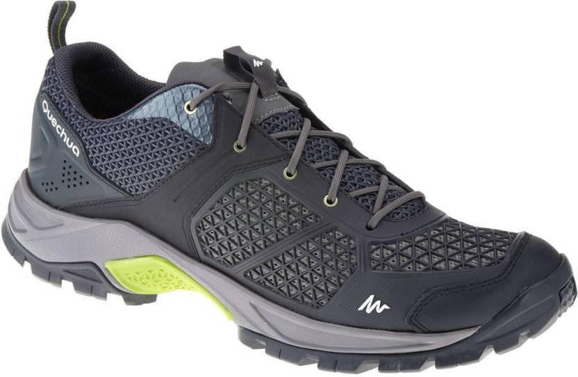 b27249e83c45 Quechua by Decathlon Forclaz 500 Hiking   Trekking Shoes For Men (Grey)