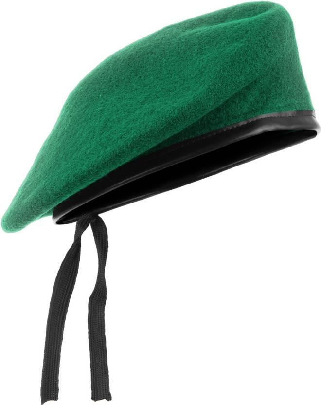 38bf5f11cfc CROSS JAGUAR Unisex French Woolen Beret Cap