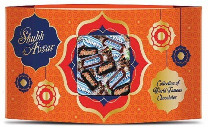Snickers Mars Bounty Chocolates Mixed Miniatures Gift Pack Bars (150 g)