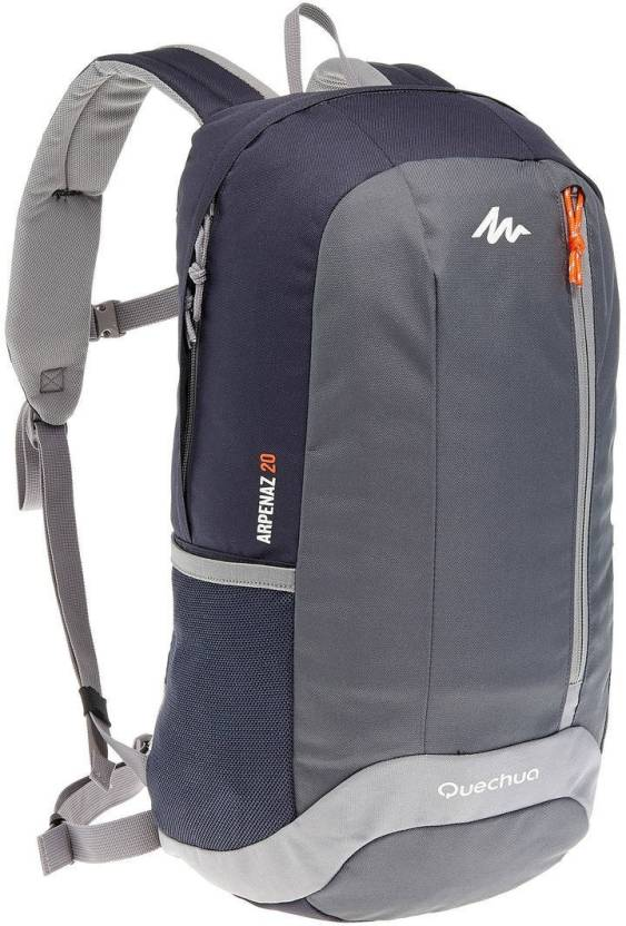 a6132e23ac Quechua by Decathlon Arpenaz 20 L Backpack Grey - Price in India ...
