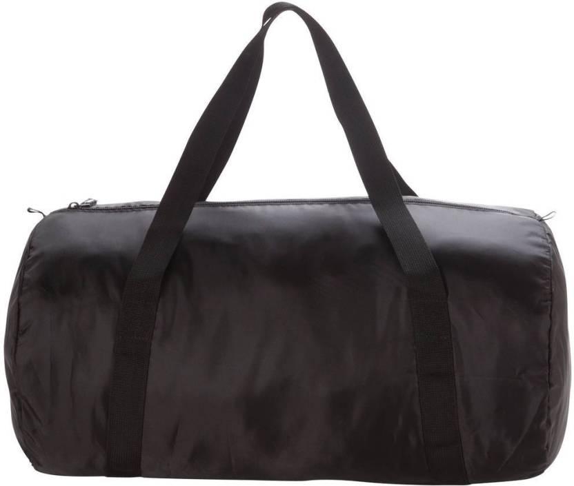 DOMYOS by Decathlon Medium Fold-Down Gym Bag Black - Price in India ... b29cab89f602d