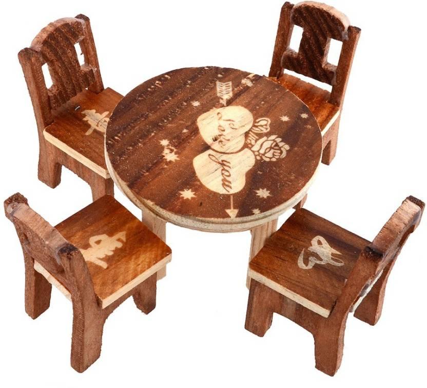 webelkart wooden baby chair set decorative showpiece 5 cm price in