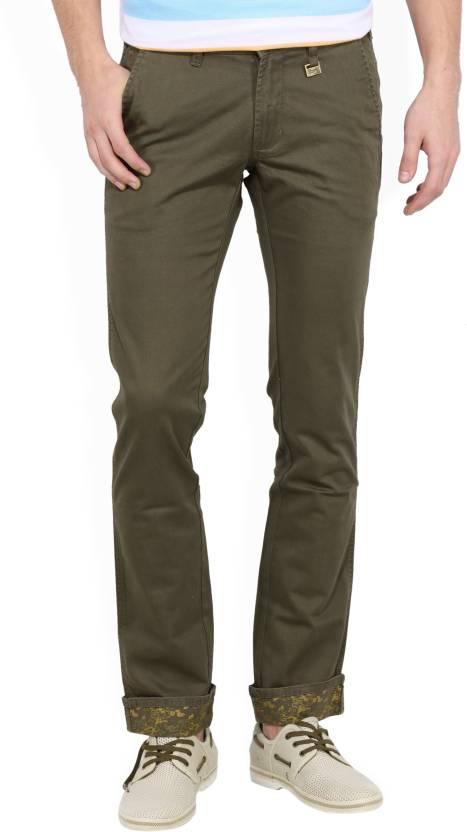 e046cc5a Wrangler Slim Men's Dark Green Jeans - Buy JSW-OLIVE Wrangler Slim Men's  Dark Green Jeans Online at Best Prices in India | Flipkart.com