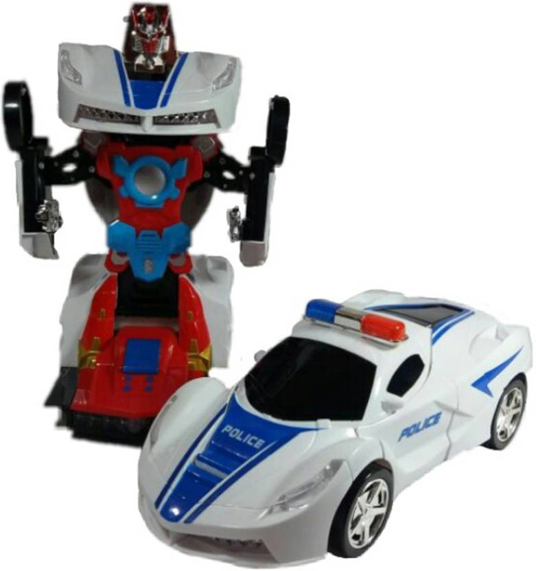 P17 Collection Robot Police Car For Kids Robot Police Car For Kids