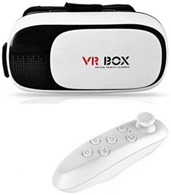 85fe2f9e39eb Kresto Kresto Virtual Reality 3D VR Box with Bluetooth Remote Controller  (Smart Glasses)