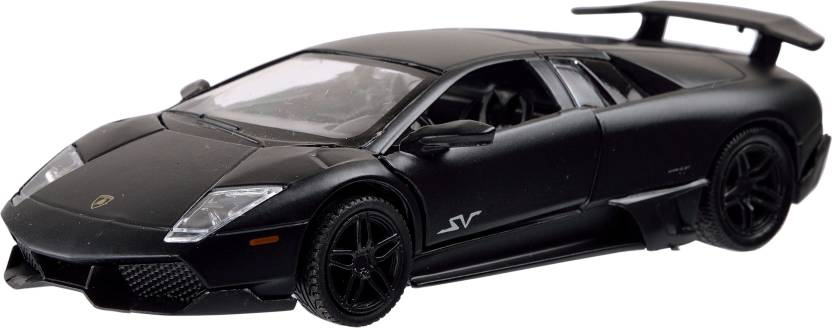 Rmz 5 Inch Pull Back Matte Lamborghini Murcielago Matte Black 5