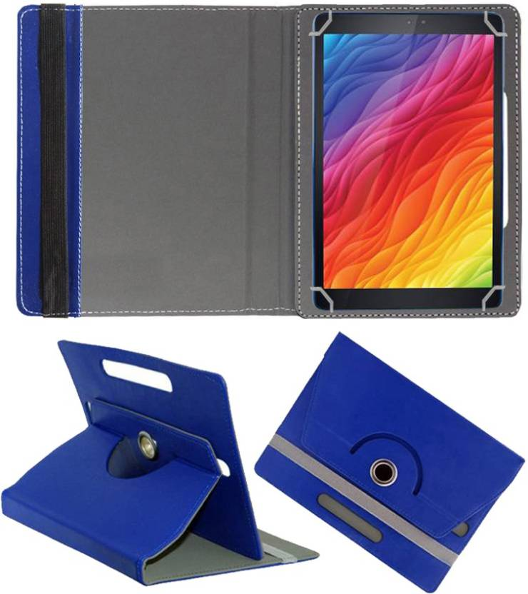 Fastway Book Cover for Iball Slide Q27 4g 10\ Blue, Cases with Holder