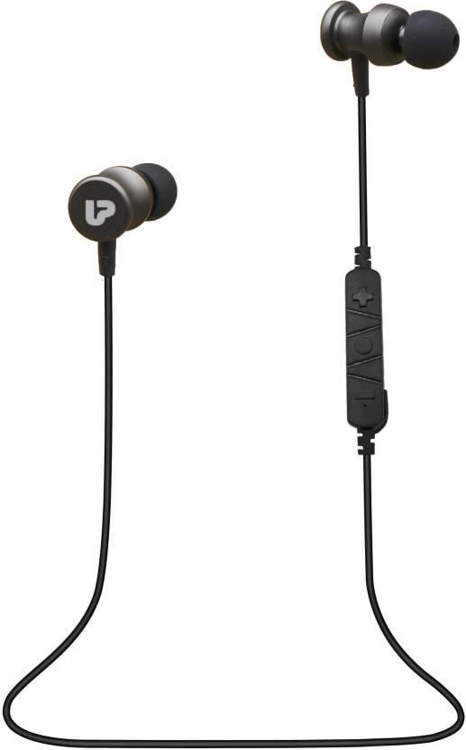8e1ecf91149 Ultraprolink UM0069 Pro-BUDS Hybrid Wireless Earphones Headset Bluetooth  Headset with Mic (Grey, Over the Ear)