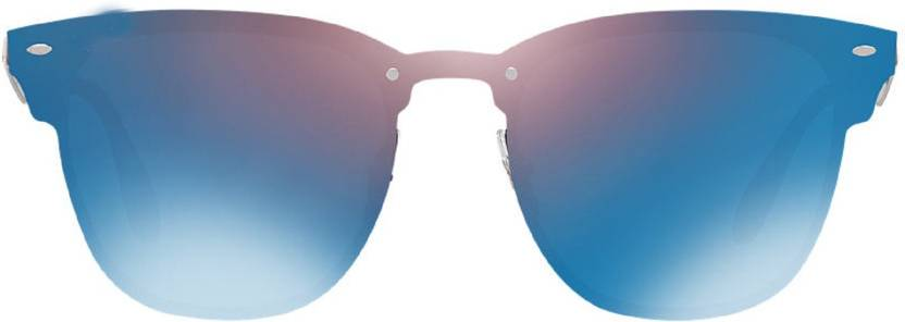 f5c7ac91a4f Buy Krishna Store Wayfarer Sunglasses Blue For Men Online   Best ...