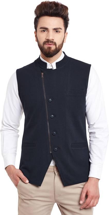 ee5ef276c24 Hypernation Solid Men Waistcoat - Buy Hypernation Solid Men Waistcoat Online  at Best Prices in India