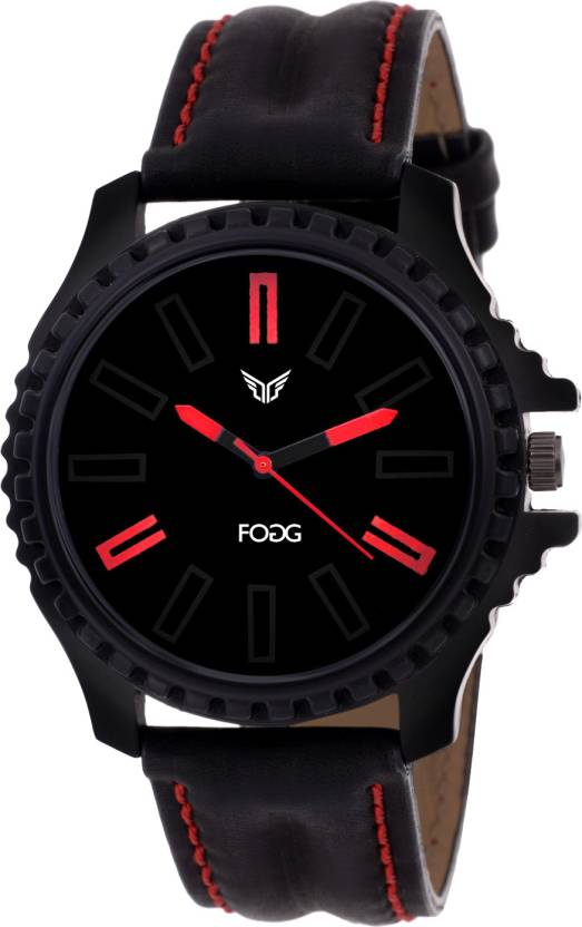 fogg 1110-BK Modish Watch - For Men