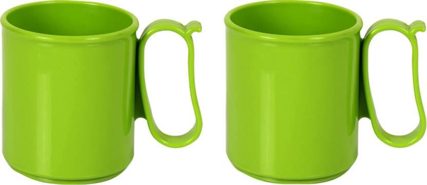 Tupperware Pack Of 2 Each 250 Ml Microwave Safe Plastic Mug