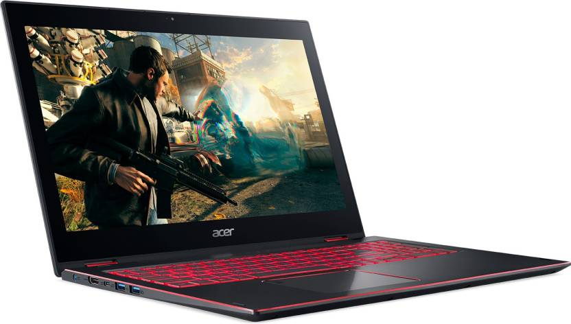 Acer Nitro 5 Spin Core i7 8th Gen - (8 GB/1 TB HDD/256 GB SSD/Windows 10 Home/4 GB Graphics) NP515-51 Laptop