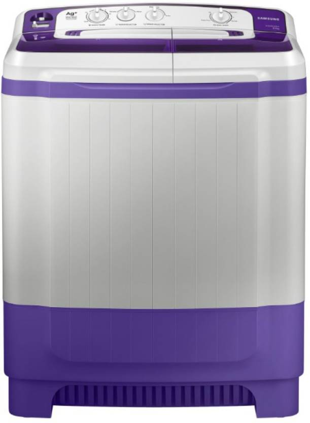 Samsung 8 5 Kg Semi Automatic Top Load Washer Only White Purple Wt85m4200hb Tl