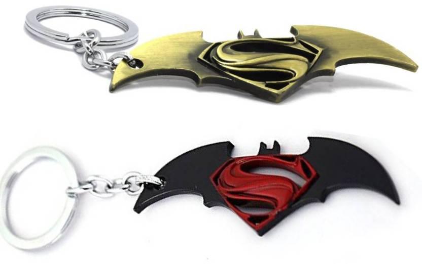 Mgp Fashion Batman Vs Superman Wings Set Of 2 Kc 148 A B Key Chain